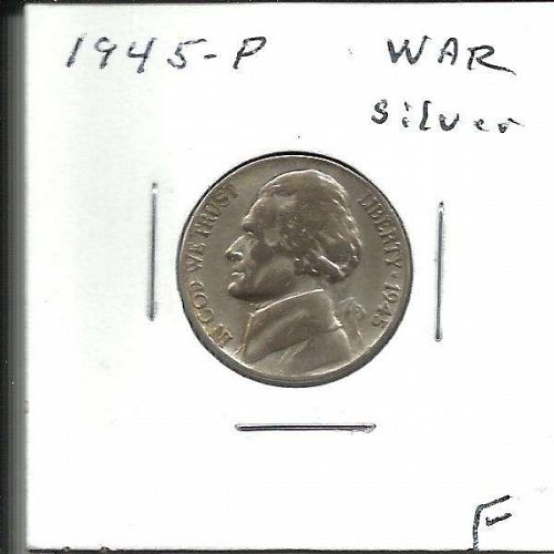 1945 P  JEFFERSON NICKEL