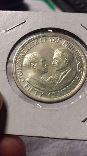 U.S. Philippine Peso: 1936 Murphy-Quezon COMPLETE SET !!