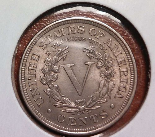 1899 P Liberty Nickel