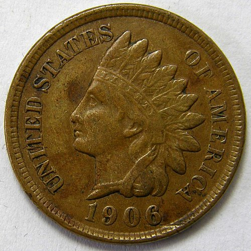 1906 P Indian Head Cent #11
