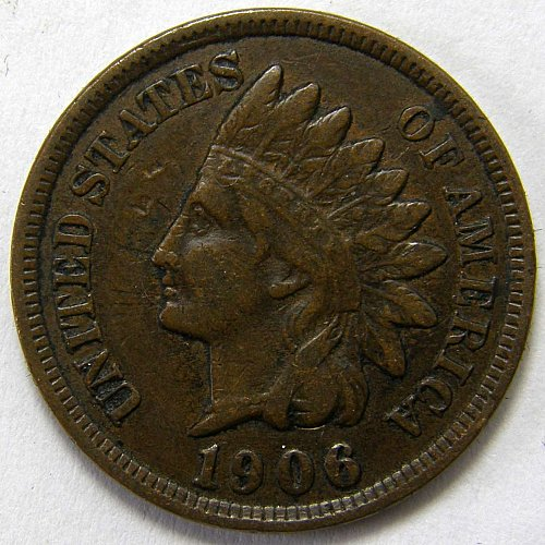 1906 P Indian Head Cent #13