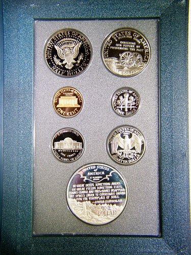 1995-S Prestige Proof Set with Civil War Half & Dollar
