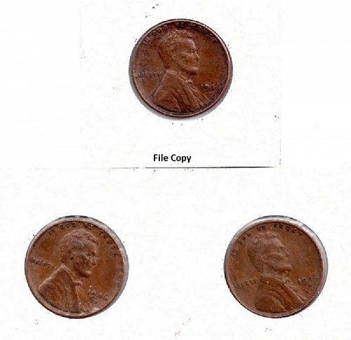 1946 p,d,s Lincoln Wheat Pennies #3