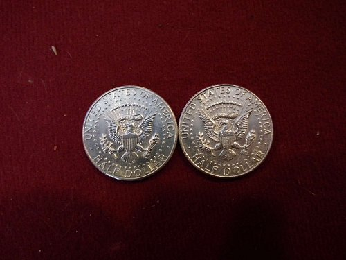 1- 90% silver, 1964 Kennedy Half Dollar  //CHRISTMAS SPECIAL//