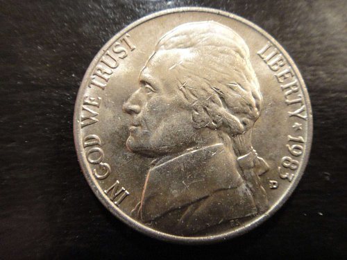 1983-D Jefferson Nickel MS-63 (Choice BU)