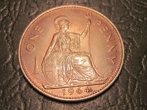 1964 Great Britain Large Penny