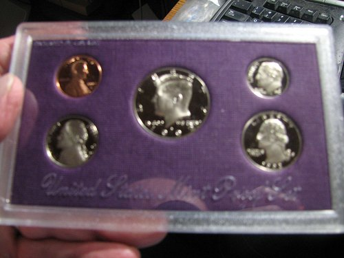 The 1992-S United States Mint Proof Set in fantastic condition