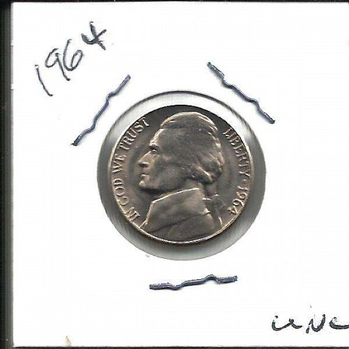 1964  JEFFERSON NICKEL