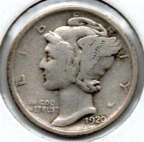 1920 S Mercury Dime