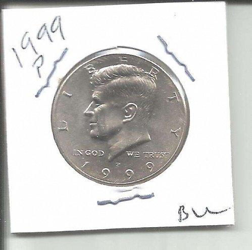 1999 P  KENNEDY HALF DOLLAR