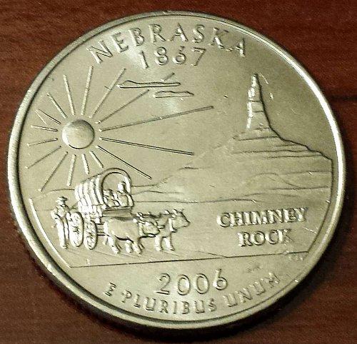 2006-P Nebraska State Quarter (5011)