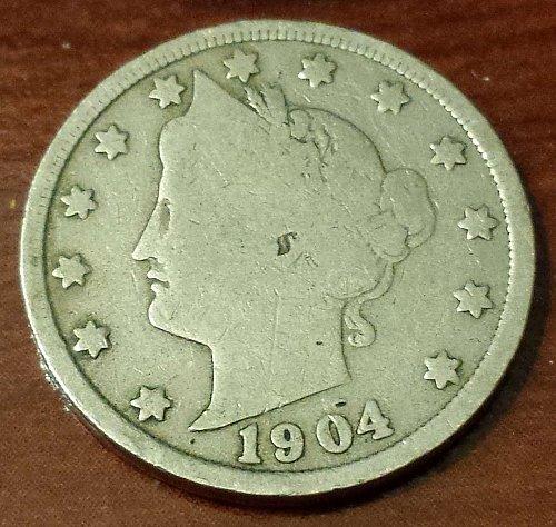 1904 Liberty Nickel (5023)