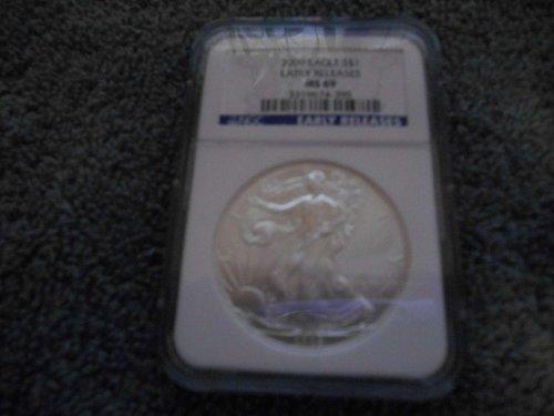 2009   American Silver Eagle   MS69