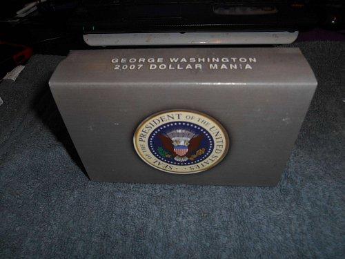 2007  Presidential dollars 6 set series George Washington