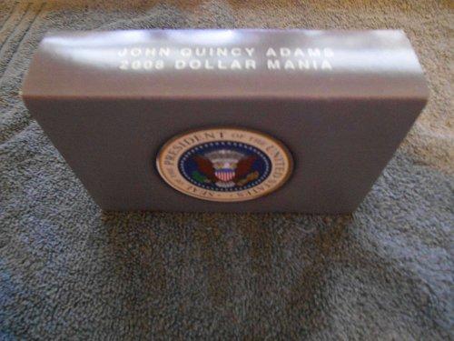 2008 set of 6 presidential dollars JQ Adams