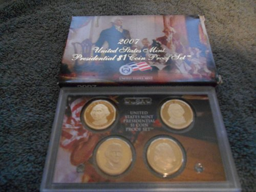 2007 presidential 4 coin proof set