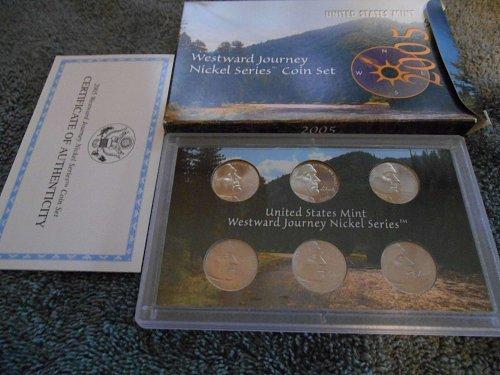 2005 westward journey nickel mint set - all 6 coins