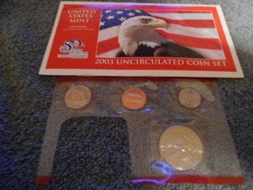 2003  D US Mint set (Partial)