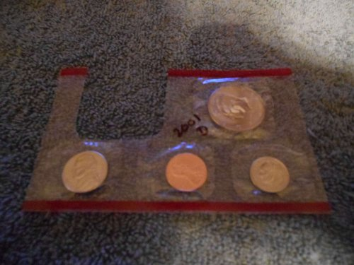 2001  D  US Mint set (Partial)