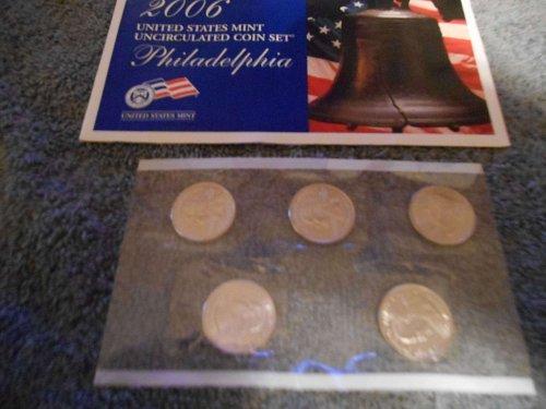 2006  P  US Mint set   (5 state quarters)