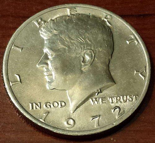 1972 Kennedy Half Dollar (5053)