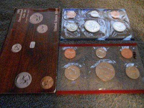 1985 D and P US Mint sets