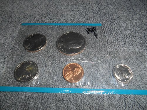 1980 P US Mint set (Partial)