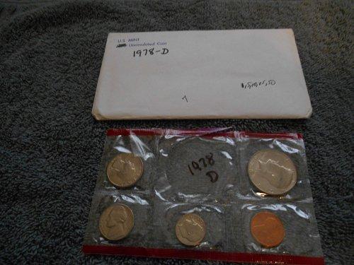 1978 D US Mint set (Partial)