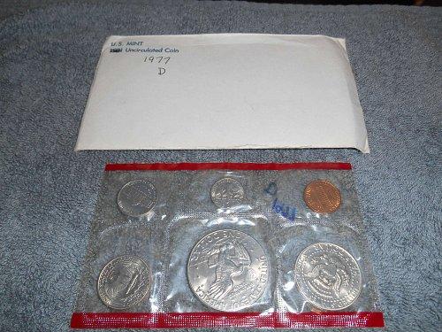 1977-D US Mint set