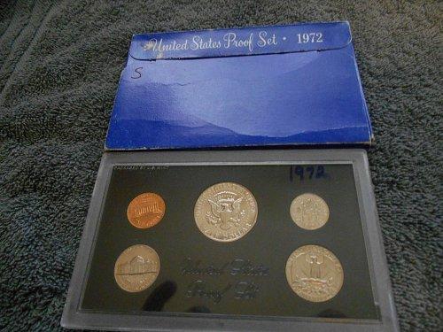 1972 US Mint set