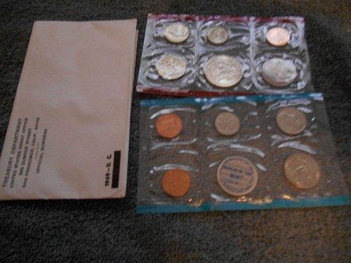 1969 US D and P mint sets