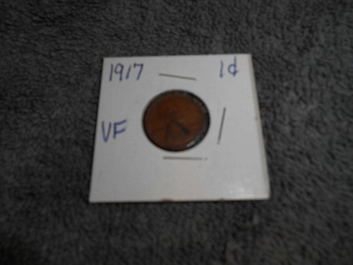 1917 & 1919 US Lincoln head pennies