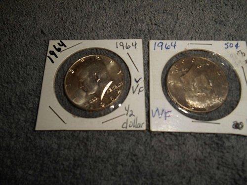 1964 & 1967 Kennedy half dollars