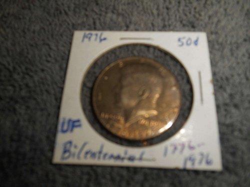 1976, 1977,  1980, & 1981  50C  Kennedy Half Dollars