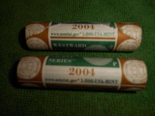 2004   2.00 roll of westward journey nickels