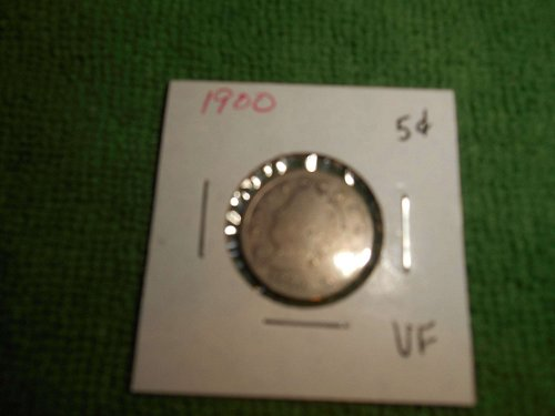 1900 & 1901 liberty nickel