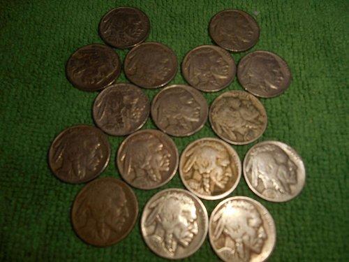 1920's & 1930's buffalo nickels