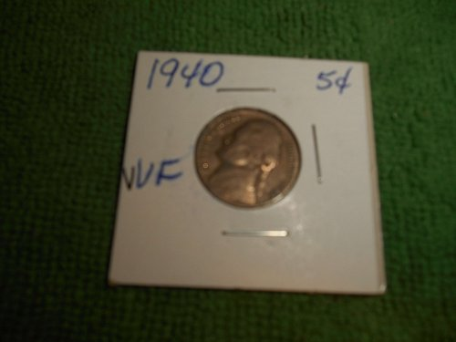 1940, 1941 & 1942 jefferson  nickels