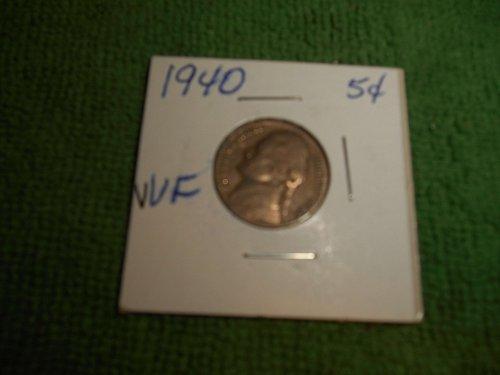 1940, 1941 & 1942 jefferson  nickels