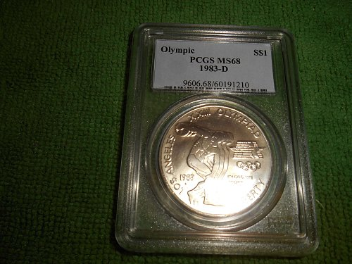 1983-D Olympic Commemorative Silver Dollar - MS-68 PCGS