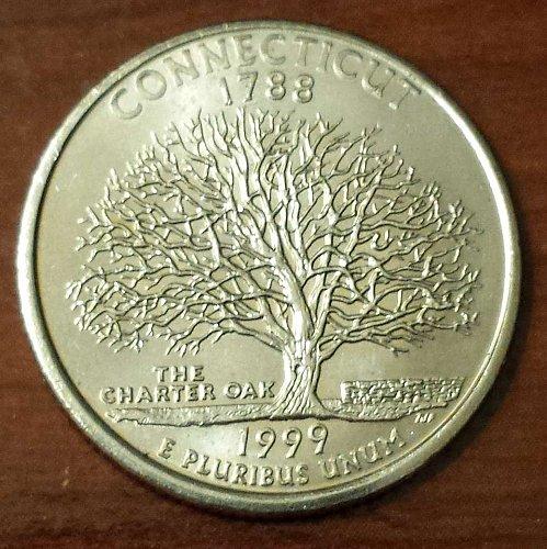 1999-P Connecticut State Quarter (5096)
