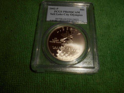 2002-P $1 Olympics-Salt Lake City pr 69 pcgs