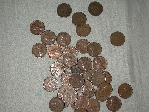 42, 1912-1958 wheat cents
