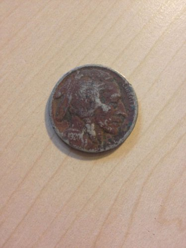 1920 Buffalo Nickel, Indian head, extra fine