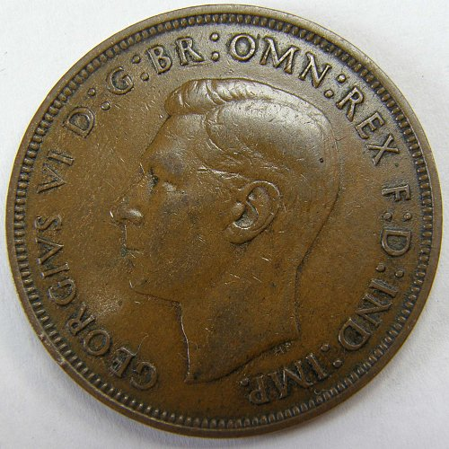 1946 Great Britain One Penny