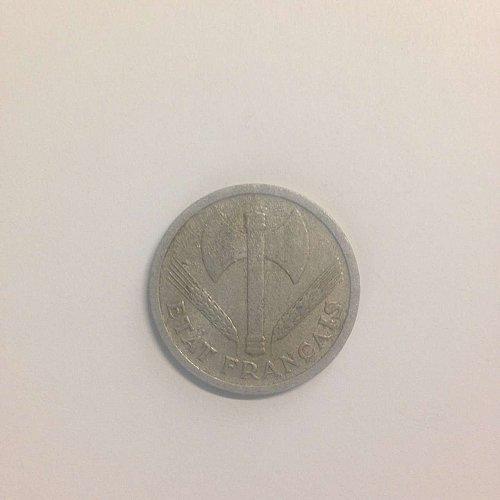 1943 Graziani 2 Franc piece