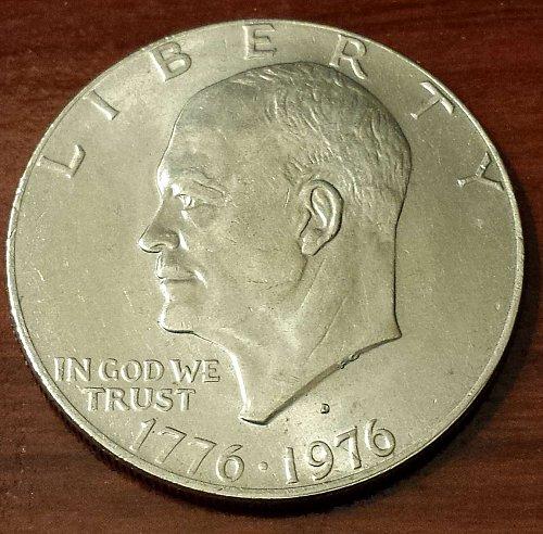 1976-D Eisenhower Dollar (5191)