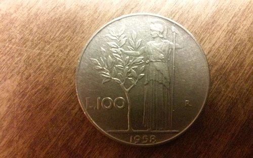 1958 Italiana 100 Lire