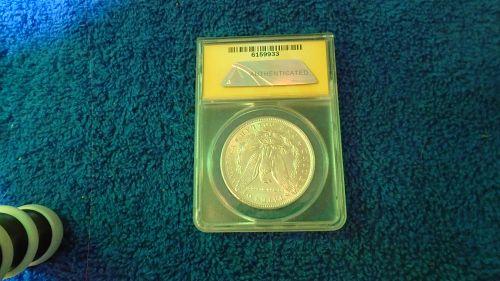 MS 60 1896 Morgan Dollar ( ITEM # 018)