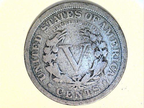 1912 P Liberty Nickel--Very Good